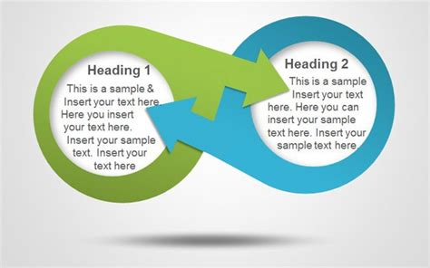 diagram templates for powerpoint free download free infinity diagram powerpoint template