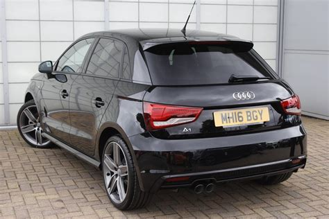 Audi A1 5 Door Black by Used 2016 Audi A1 1 4 Tfsi 150 Black Edition 5dr For Sale