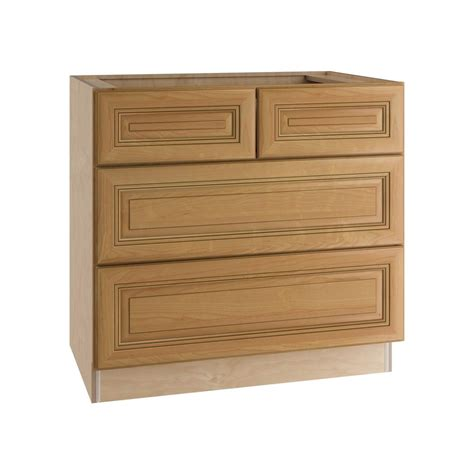 kitchen base cabinets with drawers assembled 36x34 5x24 in base kitchen cabinet in