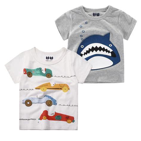 Kid Shirt From Ordinal Apparel cotton summer t shirt for baby children t shirt