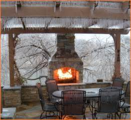 Outdoor fireplace pizza oven home design ideas