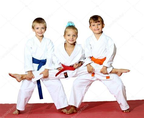 imagenes de niños karate sport karate stock photo 12462638
