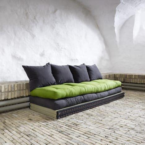 divano letto auchan banquette futon capitonn 233 tatami convertible kaiteki