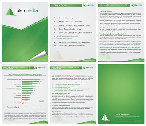 Design 6 By F Inspiration New Ms Word Template Design For A White Paper Julep Media White Waf Project Template