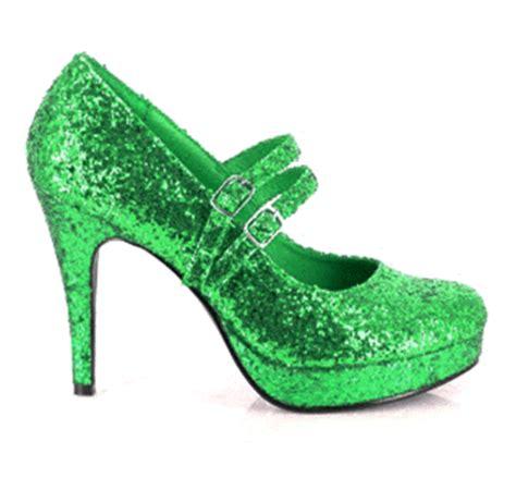 green sparkle shoes green glitter high heels 28 images green wedge glitter