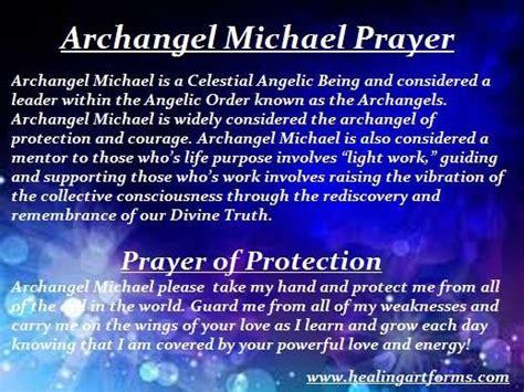 archangel michael prayer reikienergy work pinterest