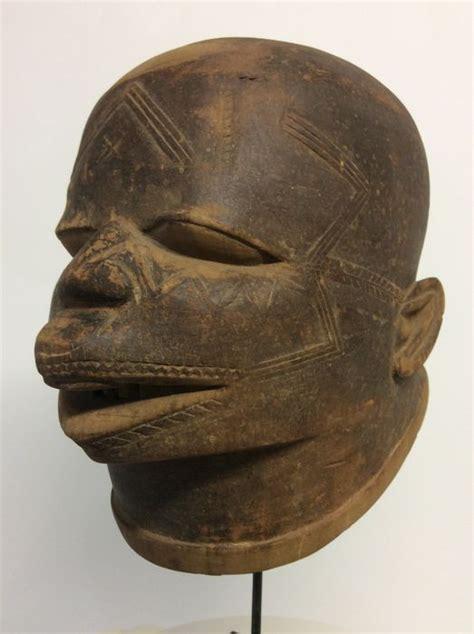 Masker Naturgo Saset masque casque lipiko makonde tanzanie mozambique catawiki