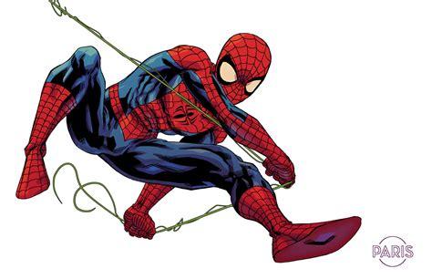 spiderman swinging spider man by parisalleyne on deviantart