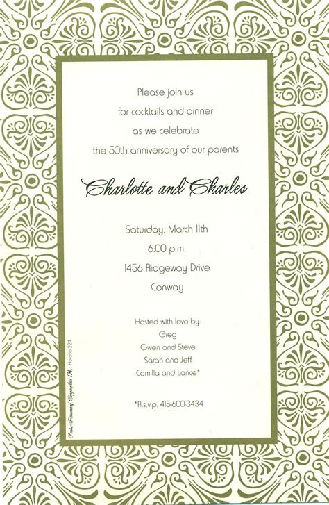 free dinner invitation template image free printable dinner invitation templates