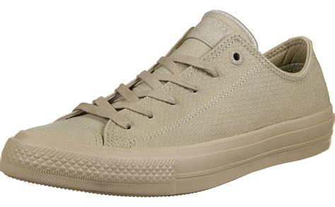 beige converse sneakers converse all ii ox shoes beige