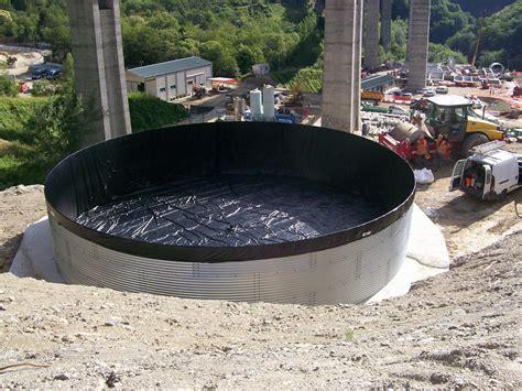 vasche in pvc per acqua benza vasche prefabbricate antincendio serbatoi d