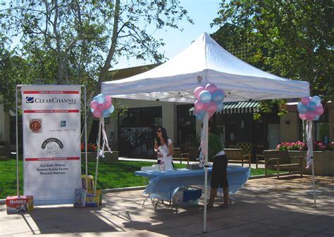 balloon decor of central california tent decor