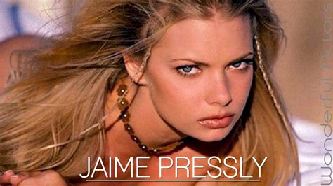 jaime pressly time lapse filmography through the years
