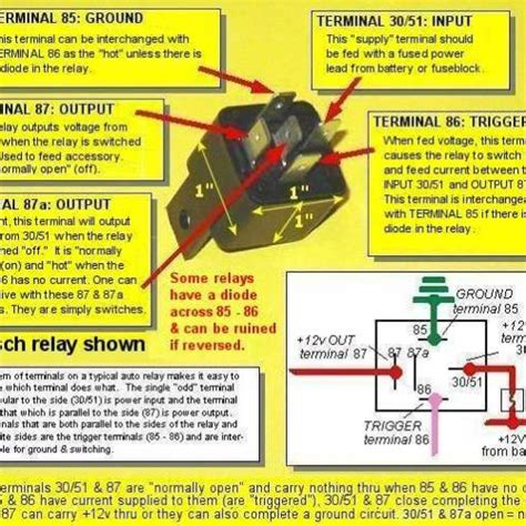mopar gm hei wiring diagram using a bosch relay for a