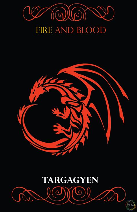 haus targaryen house targaryen of thrones fan by rainbowdelic