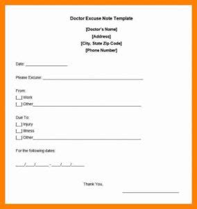 pattern making excuse letter free printable doctors excuse for work template business