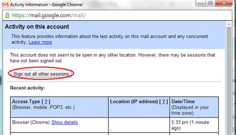 dropbox logout how to remotely log out from gmail and dropbox tip