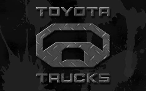 toyota trucks logo toyota logo wallpapers wallpaper cave