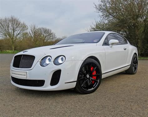 bentley sports car white bentley continental white supersports conversions