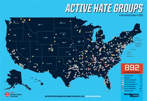 is the kkk active in your state hint the answer is active hate groups in the united states in 2015 southern