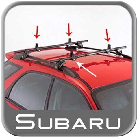 Subaru Forester Roof Rack Accessories by 1998 2009 Subaru Forester Roof Rack Load Stabilizers