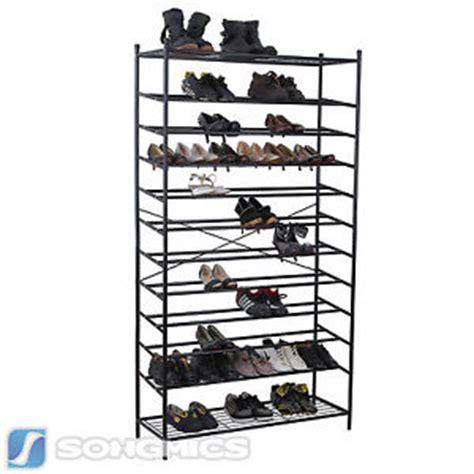 schuhregal für stiefel schuhschrank 70 paar schuhe bestseller shop f 252 r m 246 bel