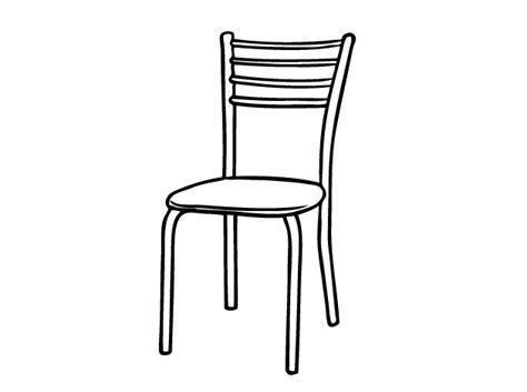 silla dibujo silla para colorear e imprimir imagui