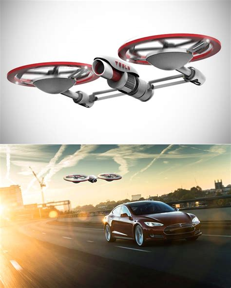 Tesla 60 Minutes Tesla Drone Can Run For 60 Minutes With A Powercell