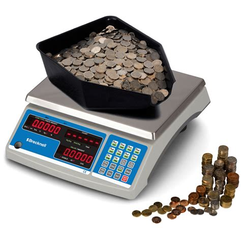 shipping scales weighing scales brecknell b140 counting coin counting scale 60 lb x 0 002 salter brecknell b140 coin scales airgead ie