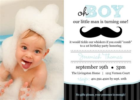 1st Birthday Invitations Boy Templates 1st birthday invitations birthday invitations