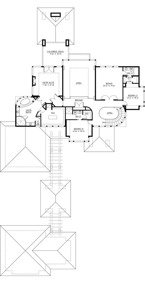 home plans with detached guest house home plans luxamcc