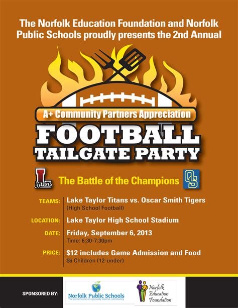 The Gallery For Gt Tailgate Party Flyer Free Tailgate Flyer Template