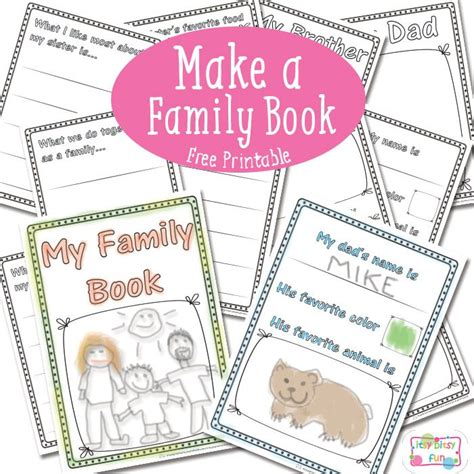 building a family books all about my family worksheets kindergarten family