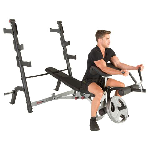 weight bench with preacher curl attachment amazon com fitness reality x class olympic weight bench