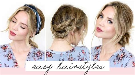 by phloss on ubat trendy hairstyles edition view of haircuts 5 easy hairstyles for short medium length hair spring
