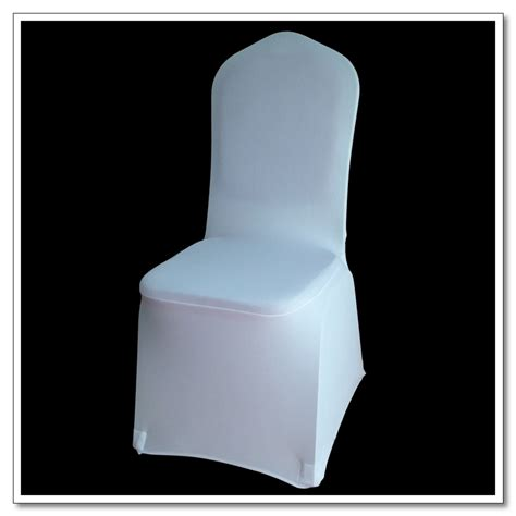Covers For Sale by 50pcs White Flat Front Cover Spandex Lycra Chair Covers