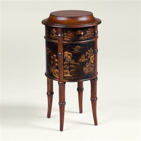 collectors classics chinoiserie round accent table