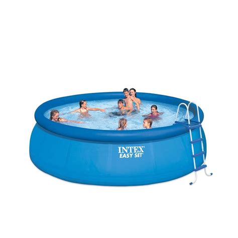 intex 15 ft x 48 in easy set above ground pool