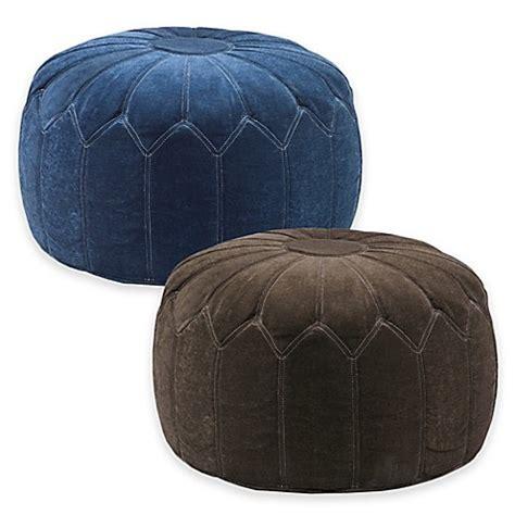 cheap pouf ottoman madison park round pouf ottoman bed bath beyond