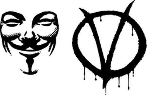 V For Vendetta Logo 1 vendetta logo vector ai free