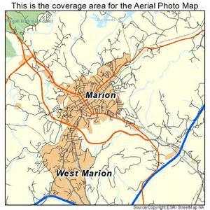 marion carolina map aerial photography map of marion nc carolina