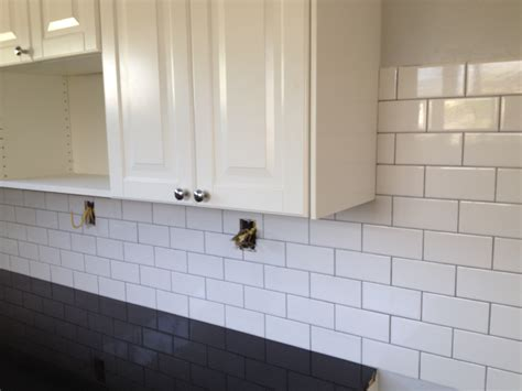 colored subway tile colored subway tile inspiration heath my style kitchen but still the tile glamorous white