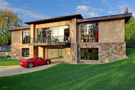 Collector House   wondrous 4 million car collector themed house in