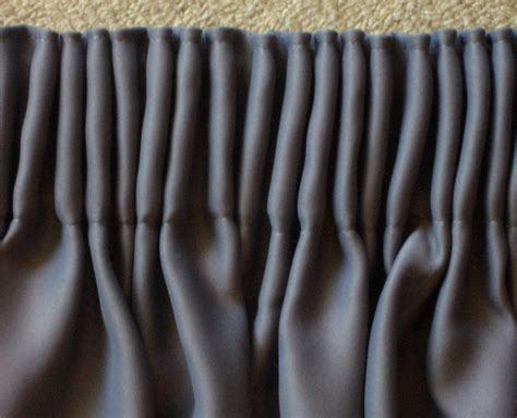 Charcoal Gray Valance Blockout Curtains Charcoal Grey Pair Pencil Pleat 300cm W