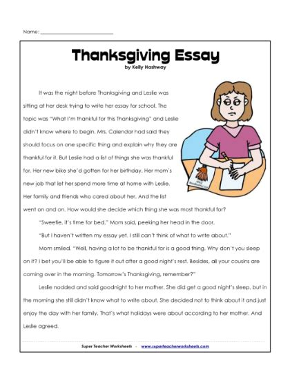 Thanksgiving Essay by Smart Exchange Usa Thanksgiving Essay