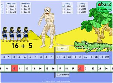 pattern ict games number line games ks1 number line 0 20 shapes counting