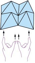 Finger Origami Fortune Teller - origami fortune teller