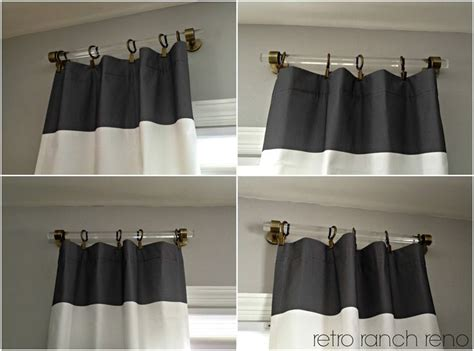 short curtain rods for panels 25 best ideas about short curtain rods on pinterest