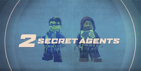 Ps4 Playstation 4 Lego Worlds lego agents dlc trailer for lego worlds ps4 exclusive