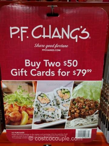 Pf Changs Gift Cards - p f changs gift card